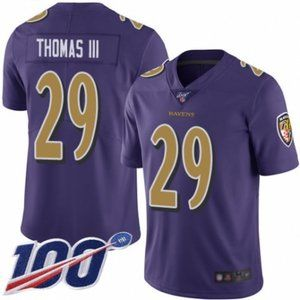 Ravens Earl Thomas III 100th Season Jersey